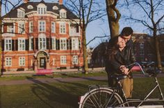 Amsterdam Engagement with Be Light Photography