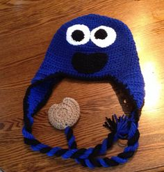 Check out this item in my Etsy shop https://www.etsy.com/listing/156577634/cookie-monster-character-hats-made-to #HEPTEAM