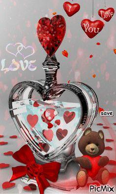 Love Heart Gif, Love Heart Images, I Love You Pictures, Love You Gif, Beautiful Love Pictures, Cute Love Gif, Beautiful Gif, Beautiful Good Night Quotes, Romantic Good Night