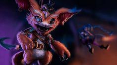 Gnar League of Legends Picture Game Art Monkeyman_artwork 1920x1200