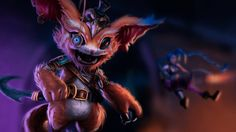 Gnar League of Legends Picture Game Art Monkeyman_artwork 1920x1200