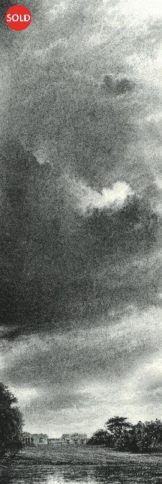 Philip Edwards Sky Art, Charcoal Drawing, Art For Art Sake, Abstract Landscape, Pencil Drawings, Monochrome, Cool Art, Scene, Fine Art
