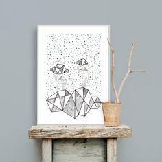 Tree Houses, 50x70