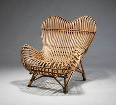 Franco Albini, Gala easy chair for Vittorio Bonacina, 1951.