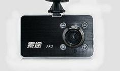 Hd driving recorder night vision wide-angle mini machine 1080p 1200w pixels