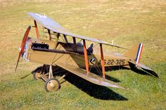 Pictures of the Royal Aircraft Factory S.E.5 - Fighter.