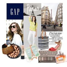 """Celebrate Summer with Gap!: Contest Entry"" by beforetheclockstrikesmidnight.blogspot.com on Polyvore"