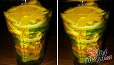 Osvěžující a chutná limonáda, kterou máte připravenou za pár minut. Nepijte slazené nápoje, které se v obchodech prodávají ve velkém stylu, ale připravte si domácí limonády, které nepotřebují žádný cukr. Citron, pomeranč nebo jiné ovoce, voda, případně špetka cukru nebo medu a bylinky jako jsou máta, meduňka. Tyto základní suroviny vám určitě stačí na přípravu chutné letní osvěžující limonády. Autor: HeMiShEk Pint Glass, Detox, Cabbage, Food And Drink, Beer, Smoothie, Vegetables, Drinks, Tableware