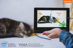 At last, the Windows tablet with writing options beyond your wildest dreams. Lenovo YOGATablet2 Anypen:http://goo.gl/idixf4