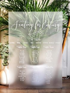 Labour of love 🖤 so nerve-wracking working on frosted acrylic with oil markers, no room for error 🙅🏼♀️⠀⠀⠀⠀⠀⠀⠀⠀⠀ . Seating Plan Wedding, Wedding Table Numbers, Heather Stephens, Seating Cards, O Design, Block Lettering, Etsy Uk, Table Plans, White Ink