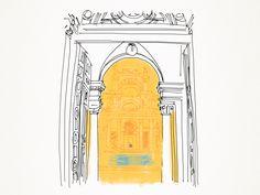 """Arte e Arquitetura: """"A Piscina do Parque Lage"""" por Penique Productions"""