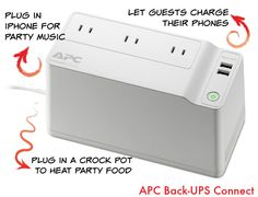 10 Tips For Hosting A Party When The Power Goes Out with APC #ad  #NoWIFI