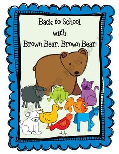 Back to School with Brown Bear, Brown Bear