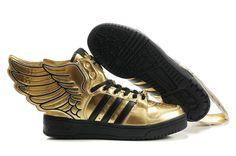 adidas Originals x Jeremy Scott Wings 2.0 gold