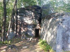Old dynamite cellar