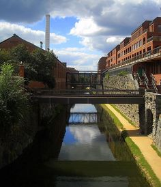 The Chesapeake and Ohio Canal, as viewed from the Wisconsin Avenue bridge in the Georgetown neighborhood of Washington, D.C. You should definitely go to the Georgetown area on your next Washington visit.