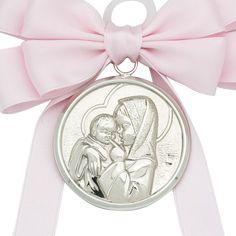 medalla de cuna en plata de ley ideal para regalar a bebs recin nacidos o