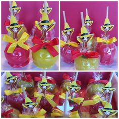 Curious George Candy Apples
