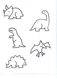 Resultado de imagen para moldes para centros de mesa de dinosaurios para fiestas infantiles