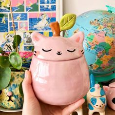 Ceramic Clay, Ceramic Pottery, Pottery Art, Clay Art Projects, Ceramics Projects, Cute Crafts, Diy And Crafts, Arts And Crafts, Keramik Design