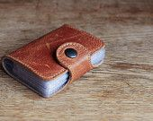 Leather Card Holder ( 20 slots )