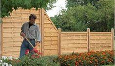 Massiver Holzzaun Für Den Garten Aus Druckimprägnierter Kiefer/Fichte Mit  Starken 45 X 68mm Rahmen