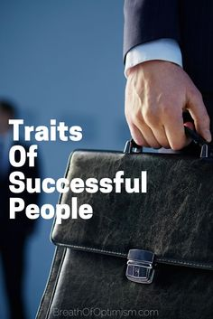 I love reading about successful people and how they became successful. I talked about the 80 richest people before and think that it is important to learn from great minds. So after reading up on many of the world's most successful people, I came up with this list of common traits that lead to their success. Use this information for your advantage. http://www.breathofoptimism.com/traits-of-successful-people/