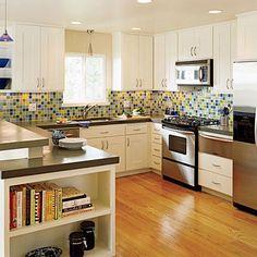 Kitchen Inspiration: Fresh, Colorful Kitchen - Kitchen Inspiration - Southern Living @nancieq