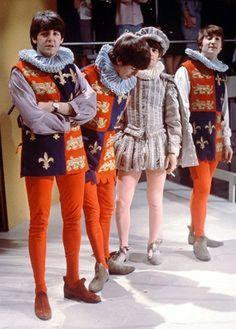 Paul McCartney, George Harrison, Richard Starkey, and John Lennon (Around The Beatles)