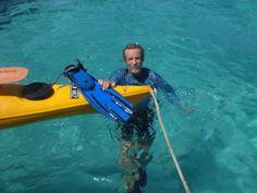 Kayaking and snorkeling fun!