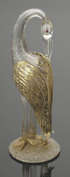 Storch 'Candia Papillon' Wohl Loetz Wwe., Klo... : Lot 1164