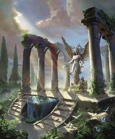 Fantasy City, Fantasy Castle, Fantasy Places, Medieval Fantasy, Fantasy World, Fantasy Concept Art, Fantasy Story, Fantasy Artwork, Fantasy Art Landscapes