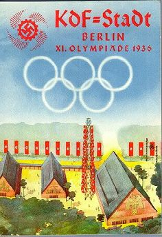 KdF=Stadt Berlin Olympiade 1936