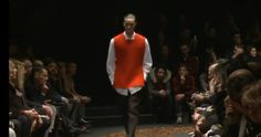 9.Z ZEGNA MENSWEAR FASHION SHOW FALL WINTER 2013. The modern design elements is similar to that of the 13th century man wearing the brown-like surcote over his under tunic.
