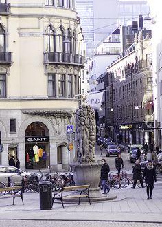 Szokholm ulica Stockholm Sweden