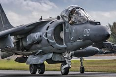 Harrier On The Ramp by Chris Buff