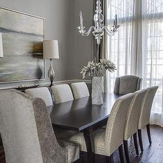 gray-velvet-dining-chair - Design, decor, photos, pictures, ideas, inspiration, paint colors and remodel