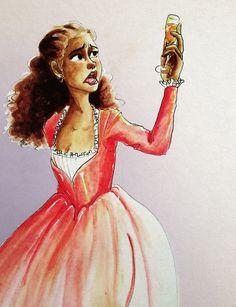 May you always be satisfied - Angelica Schuyler in Hamilton