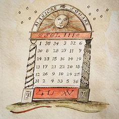 Solar Magic Square Magic Squares, Solomons Seal, Tag Image, Witchcraft, Panda, Solar, Symbols, Photo And Video, Instagram