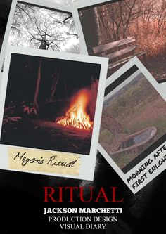"""""""Ritual"""" Visual Diary - Cover page"""