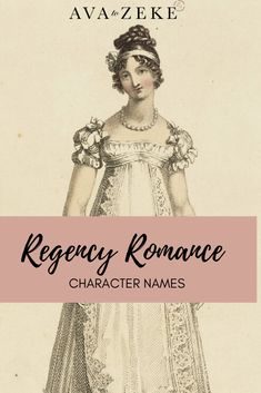 Looking for a character name for your Regency hero or heroine? Check out our curated list! Just click through to Ava to Zeke! Strong Girl Names, Strong Girls, Writing Memes, Writing Resources, Writing Tips, Vintage Baby Names, Unusual Names, Regency Era, Character Names