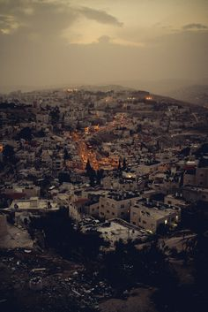 Jerusalem: There is no place in the world like you.