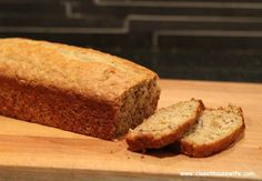 A cake in disguise! Banana bread with crunch.