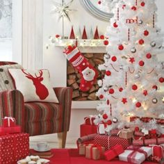 Red & White Christmas by Arden