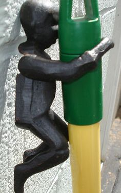 CAST IRON BLACK BOY LEROY  BROOM HOLDER BLACK FOLK ART, BLACK AMERICANA -  $ 5.00 Vintage Ads, Vintage Black, Broom Holder, Aunt Jemima, Black Boys, Civil Rights, Cast Iron, Folk Art, Collections