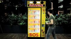 A vending machine named BEV in Cape Town South Africa will offer you a free tea if you take the time to stop by it and tweet from your smart phone.