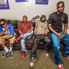 Black Hippy - Ab-Soul, Kendrick Lamar, ScHoolBoy Q, Jay Rock