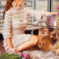 Check vanessamontoro's Instagram Ateliê florido ❤ La Vie en Rose Dress #VanessaMontoroStyle #VanessaMontoroCrochet #Authentic #Timeless #HandMade #Crochet #FeitonoBrasil #MadeinBrazil #PositiveFashion #SlowFashion 1470460699779472377_197187782