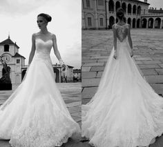 2016 Alessandra Rinaudo Lace Wedding Dresses A Line Illusion Sweetheart Long Sleeves Sexy Back Wedding Gowns Appliques Long Bridal Gown Online with $233.16/Piece on Angelia0223's Store | DHgate.com