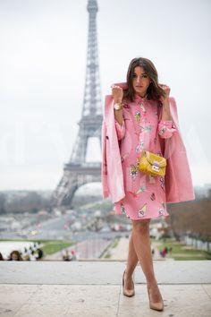 Paris Fashion Week 2015 credits: Andrea Pacini for DMODAGUIDE #pfw #paris #fashion #week #2015 #dmodaguide #hardkore79 #street #style #streetstyle #moda #blogger #model #look #outfit #woman #photo #Andrea #pacini #lovely #pepa #lovelypepa #furla #bag